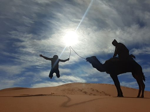 5 days tour from Marrakech to Merzouga desert.