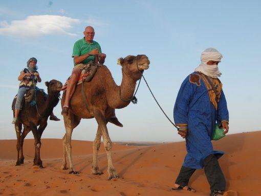 Tangier Morocco tour itinerary, 6 days Via Merzouga desert.