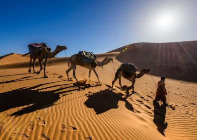 7 days tour from Marrakech via the Sahara desert.