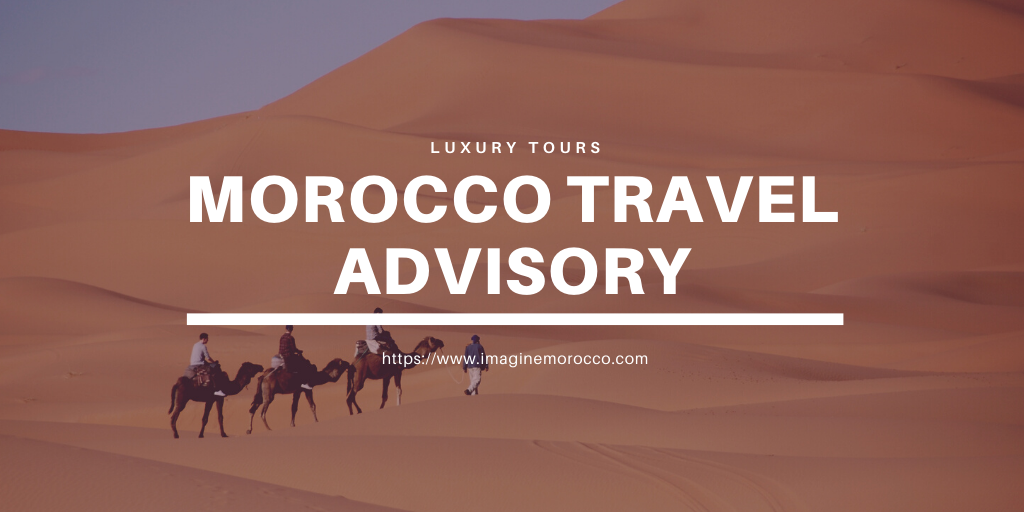 Travel advisory Morocco