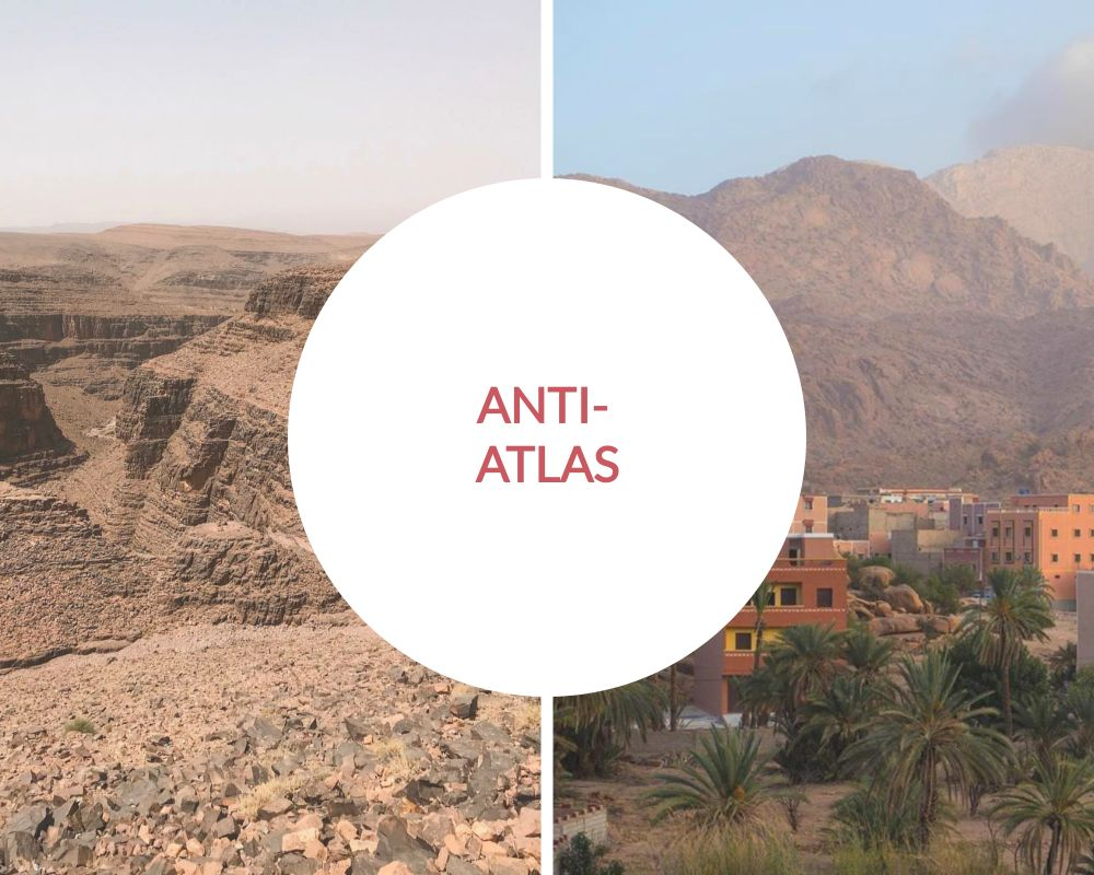 Anti atlas mountains,