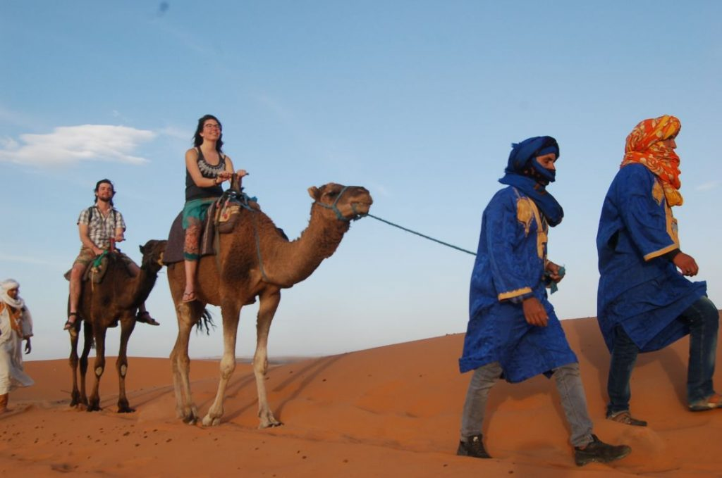 4 days tour from Marrakech to Erg chebbi