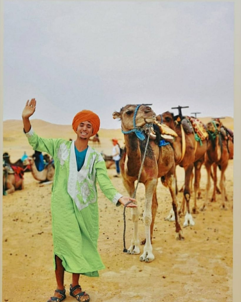 camel ride Morocco.