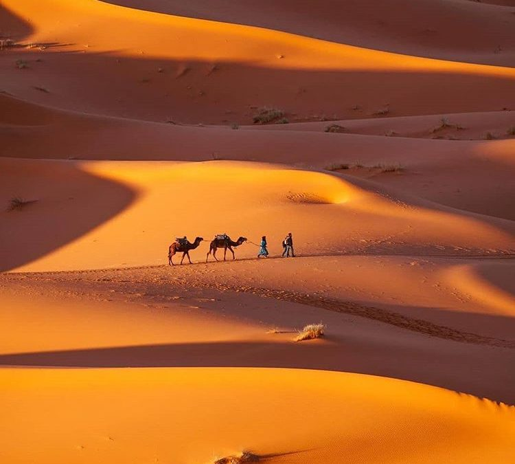 Desert in Morocco, 3 famous places you should visit
