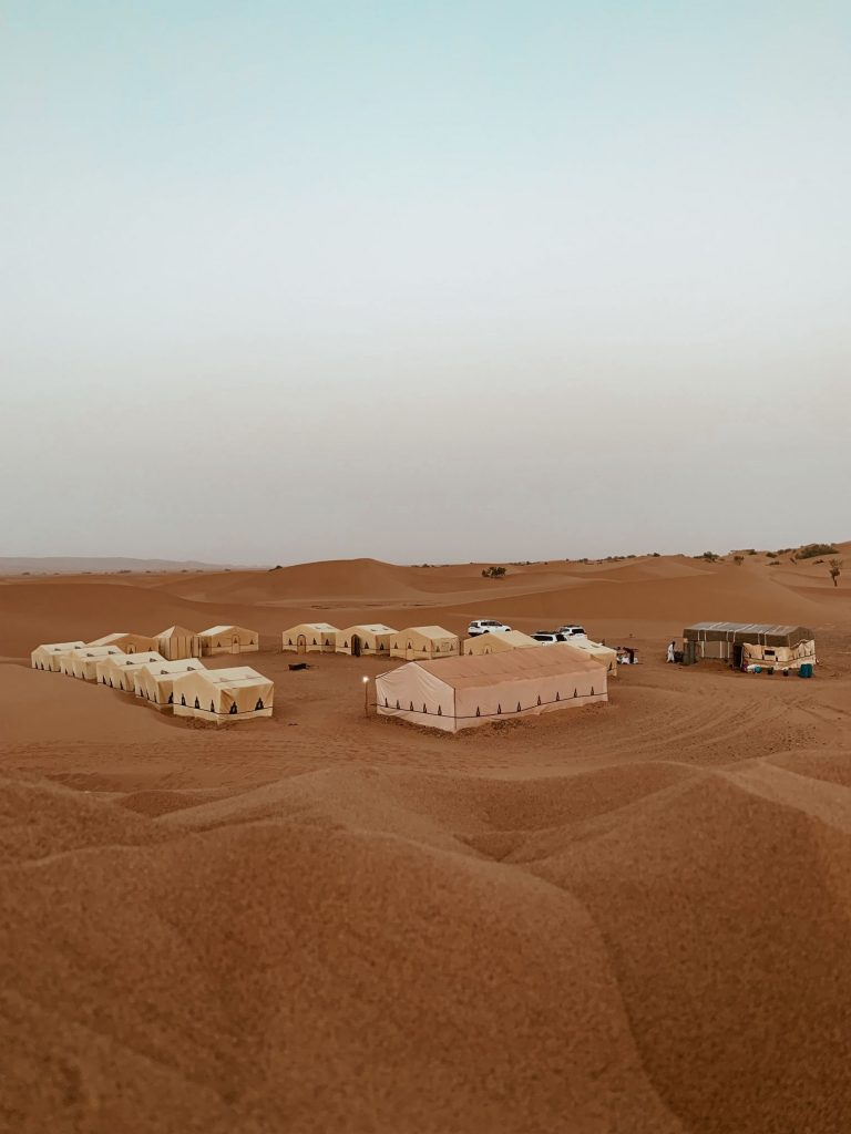 Erg Chebbi desert camp
