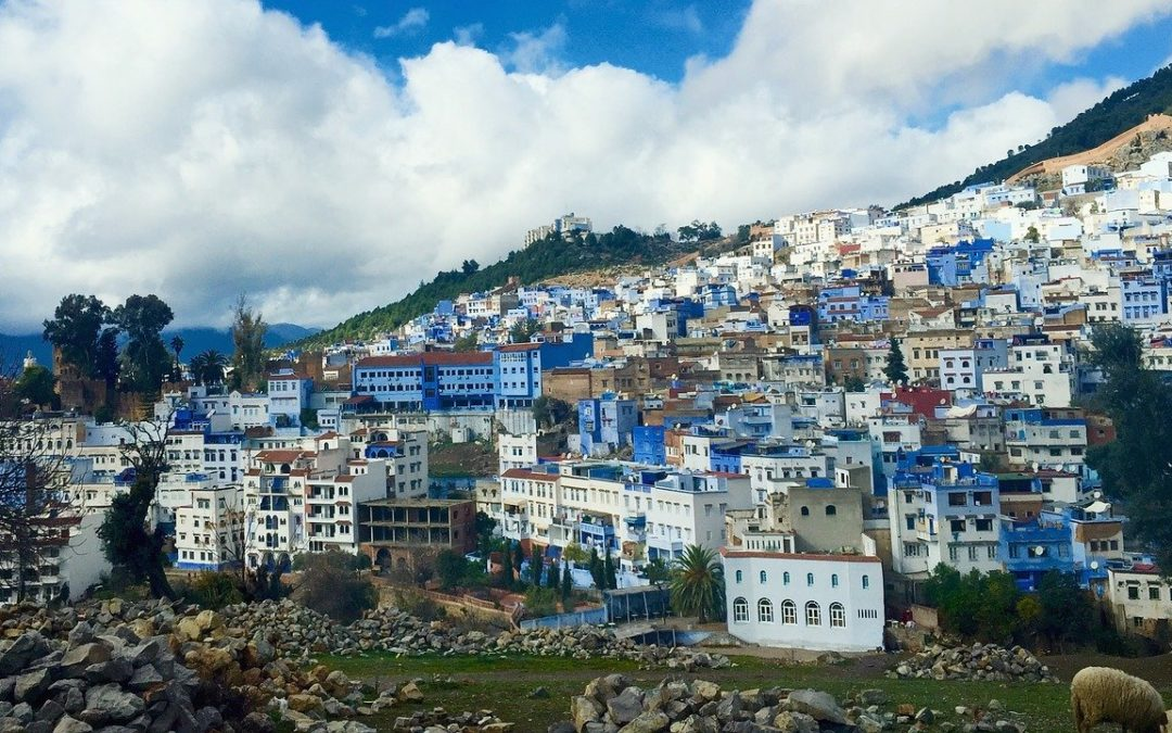 Blue city of Morocco, discover the colorful Chefchaouen.