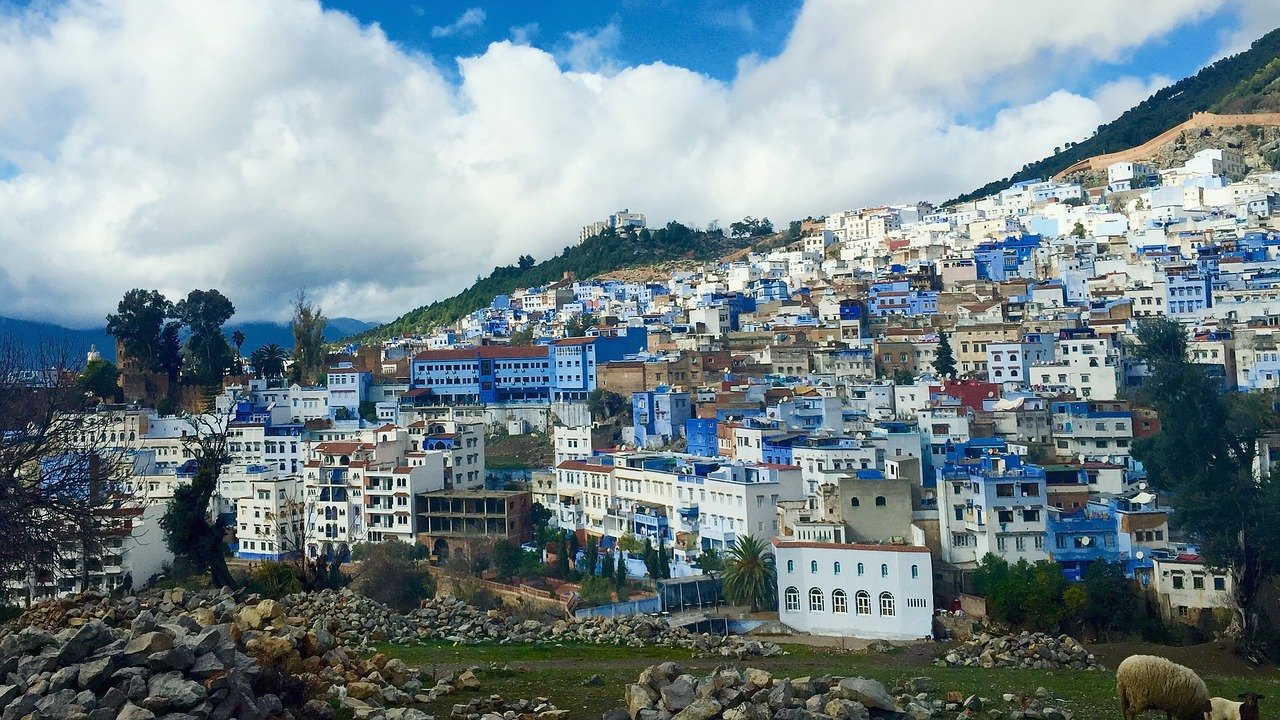 blue city of morocco