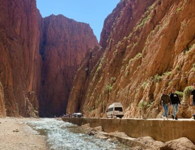 Todgha gorges, a beautiful place to visit with our 4 days desert tour from Fes to Marrakech via Merzouga desert