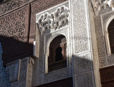 Moroccan architecture a must see with our 8 days tour itinerary from Casablanca