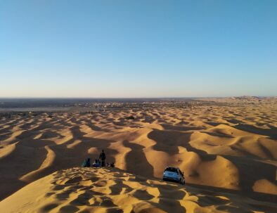 Merzouga sand dunes, the best of our 8 days tour itinerary from Casablanca