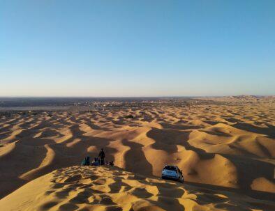 sand dunes of Merzouga