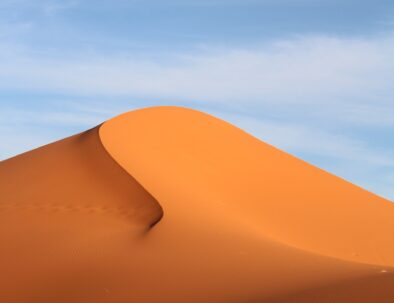 sand dunes of Erg Chebbi with our 3 days desert tour from Fes to Marrakech