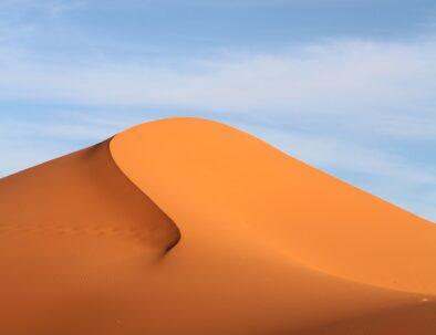 Erg Chebbi sand dunes in Merzouga