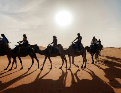 camel trekking with the best 2 days tour from Fes to Merzouga desert