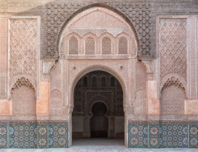 gate in Marrakech, the best attraction you will visit with our 6 days Morocco tour from Fes to Marrakech