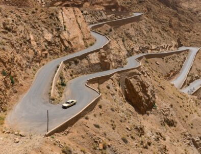 tissdrine curves, an attraction to visit with our Morocco tour 10 days from Casablanca