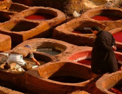 Chouara Tanneries, we will visit them with our 11 Tangier desert tour itinerary