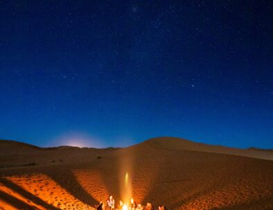 camping at Berber tents is one of the best things you will experience with our 5 days tour in Morocco